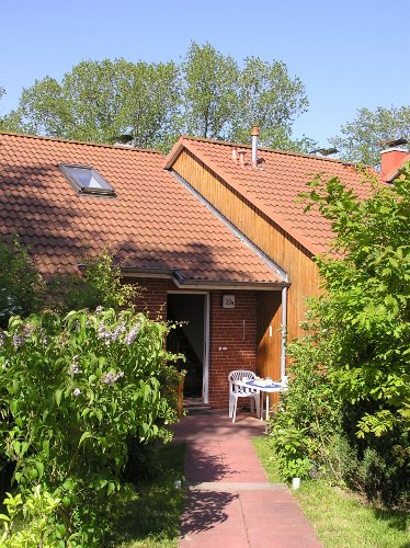 Unser Eingang mit 2. Terrasse