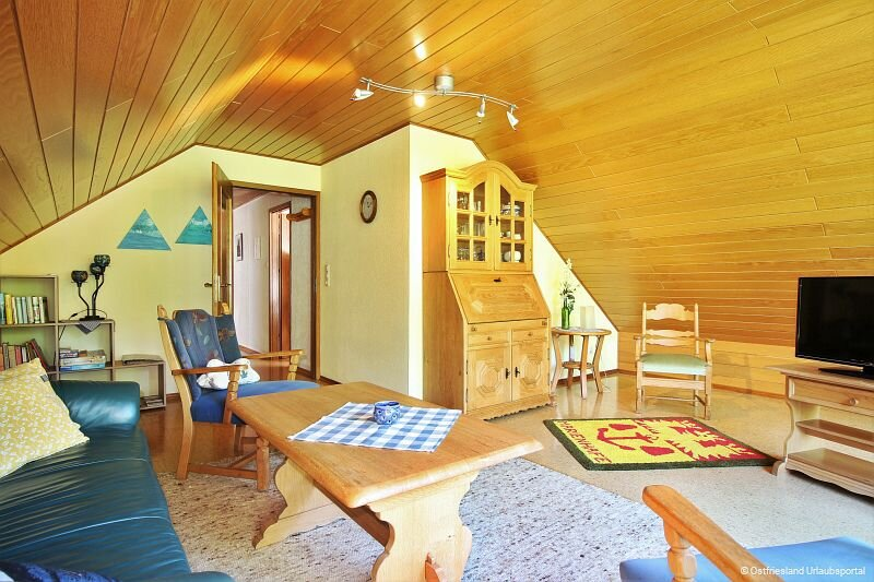 Wohnzimmer mit Fernsehecke
