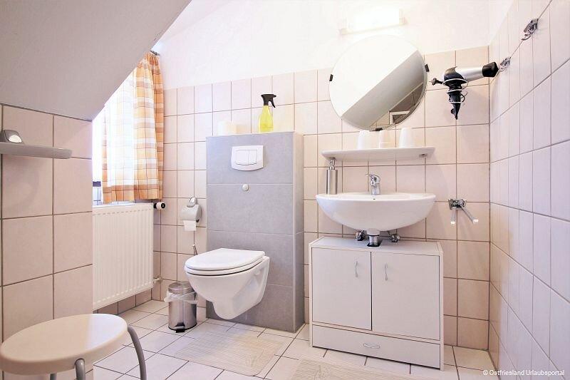 Das Bad in Wohnung I