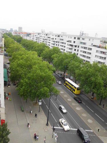 City-West - Kurfürstendamm von oben