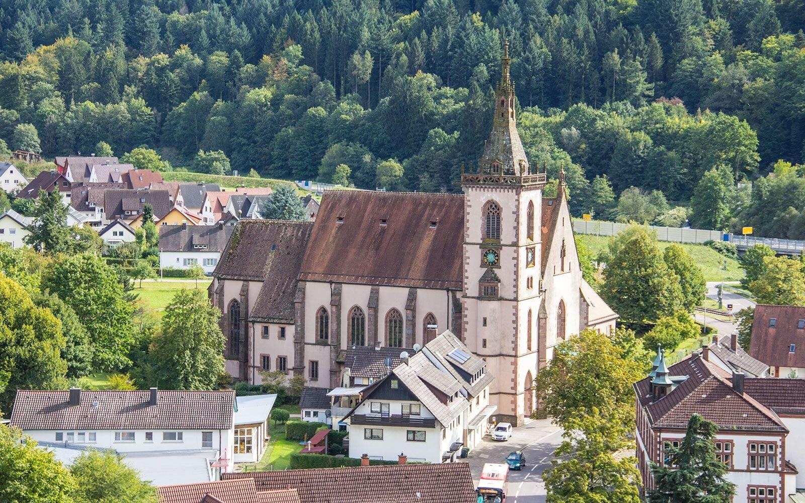 Wallfahrtskirche von Lautenbach