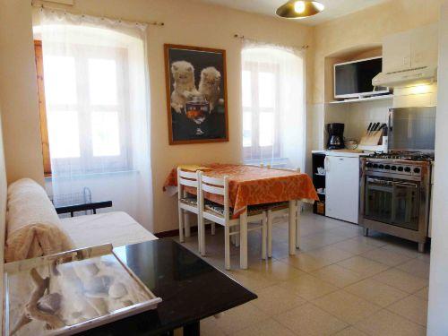 Wohnküche mit Tv Sat, Internet Wi-Fi