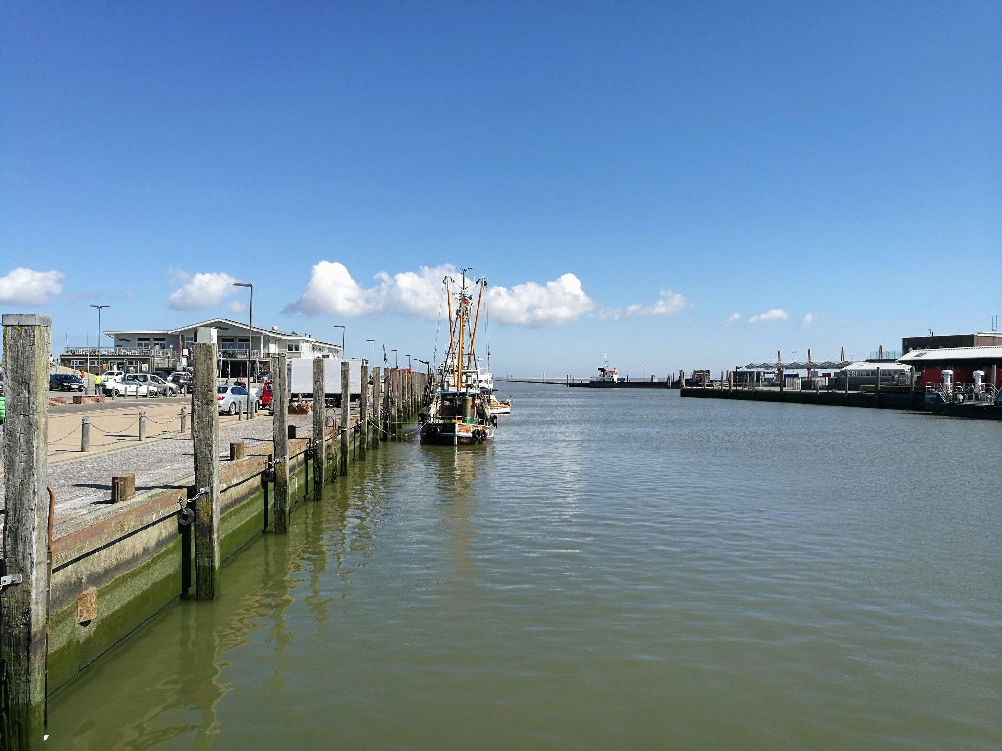 Teilansicht Hafen Carolinensiel