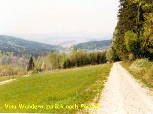 Wanderweg Posthof-Gibacht
