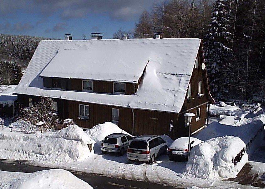 Ferienwohnung John im Winter