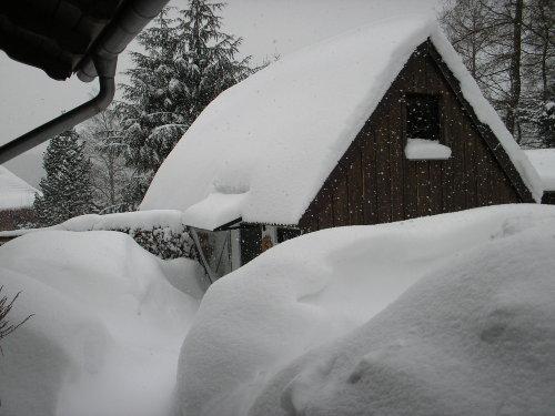 Schneeberge im Garten