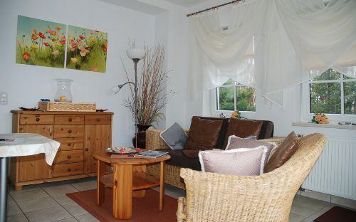 Wohnzimmer 3-Sterne Landhausflair