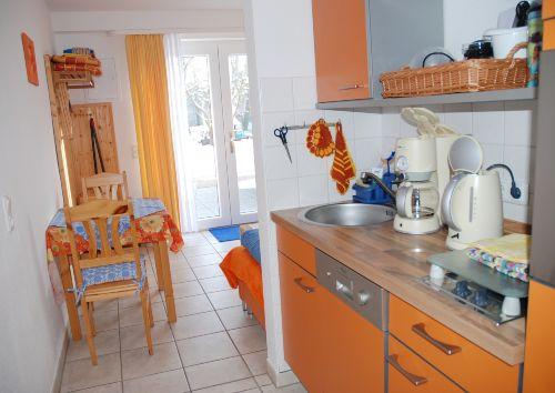 3-Sterne Fewo orange-blau