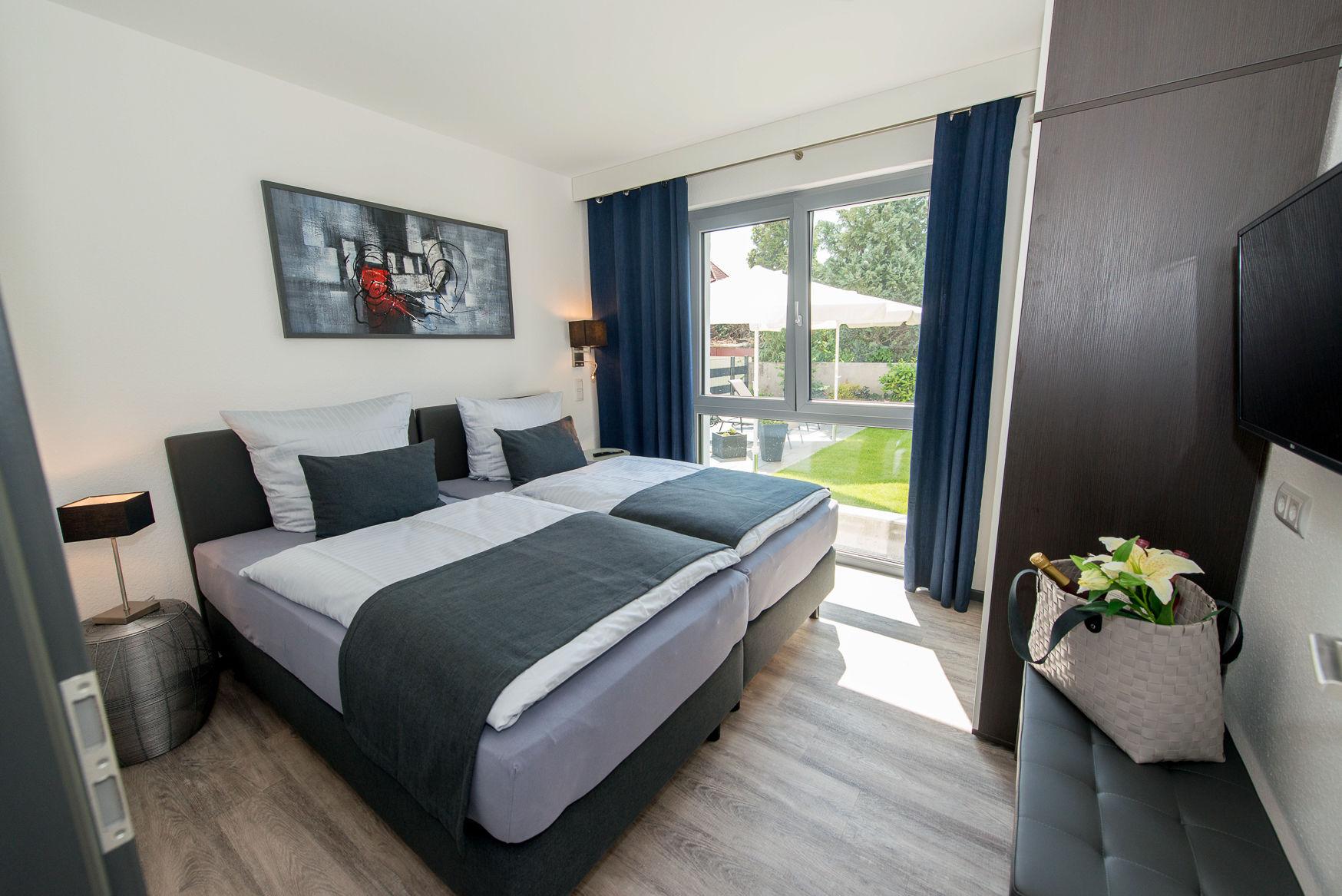 2. Schlafzimmer mit 2 Einzelbetten