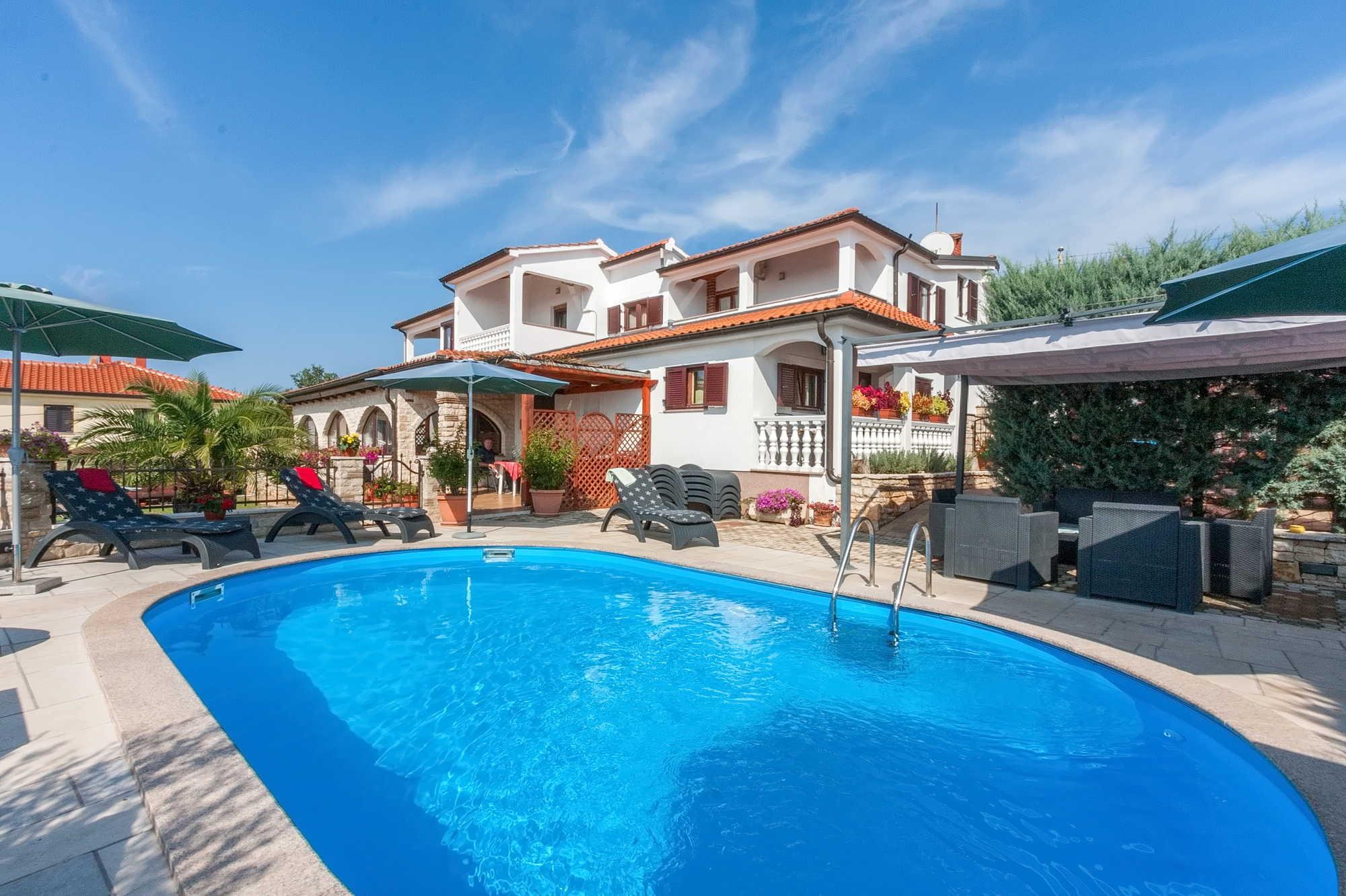 Swimmingpool-Casa Eric in Isrien