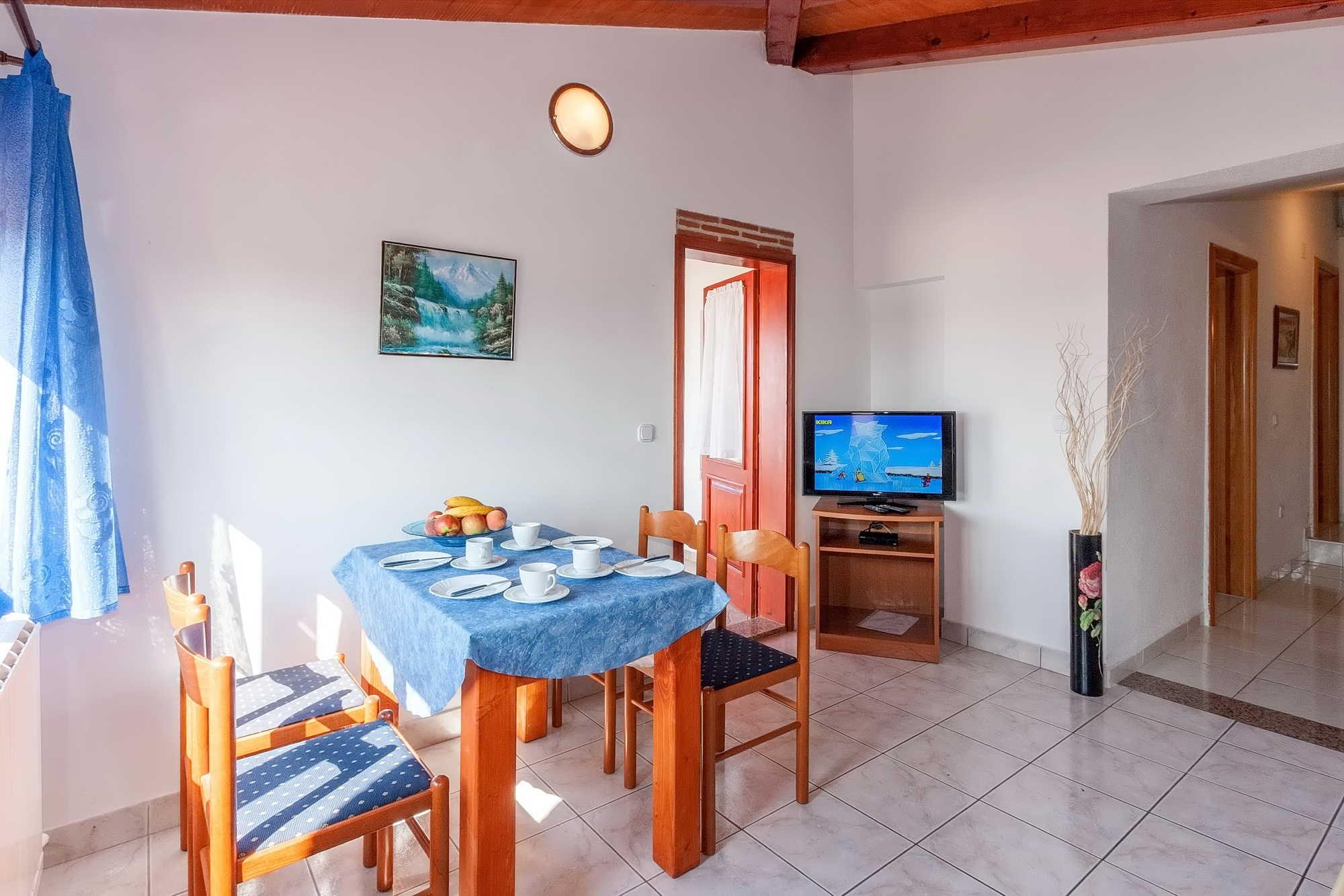 Küchen-Essbereich der Ferienwohnung
