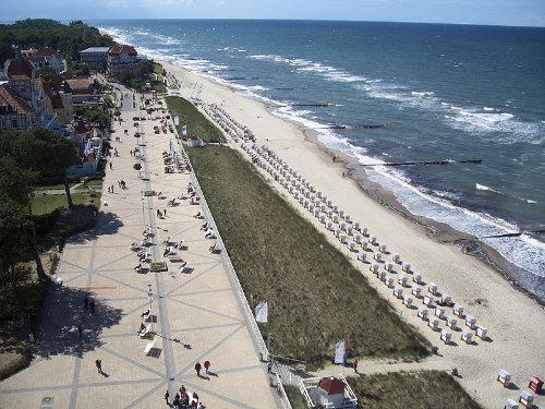 Nur ein paar Meter zur Strandpromenade