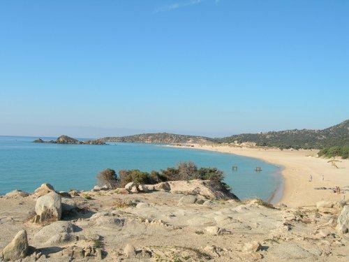 Der Strand von Chia