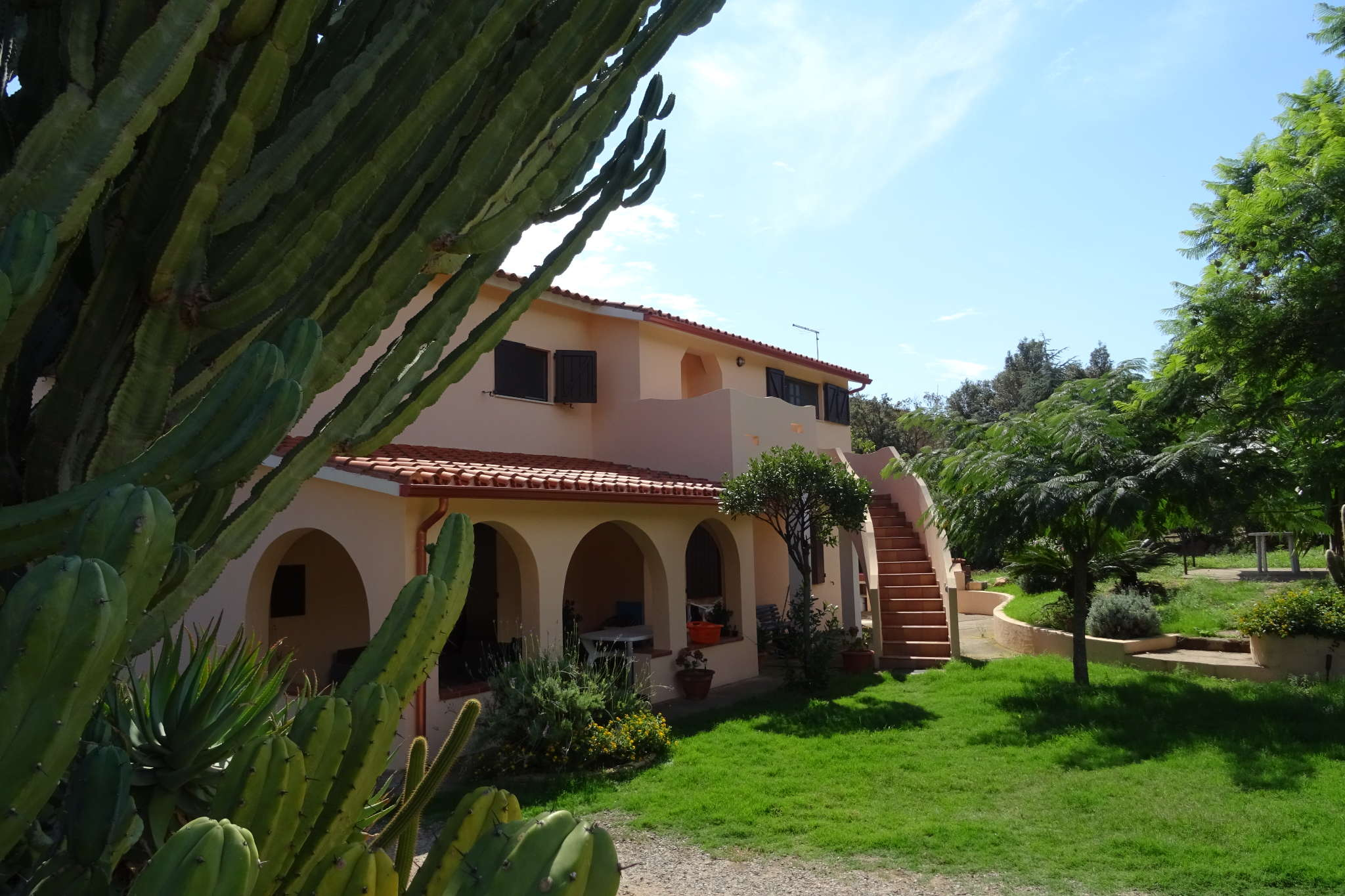 Die Casa Simon von Außen