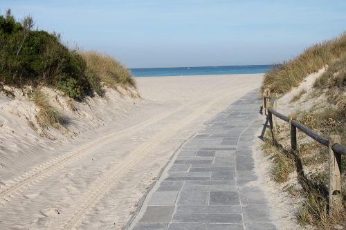 Wir haben mehr als 20 km Sandstr�nde
