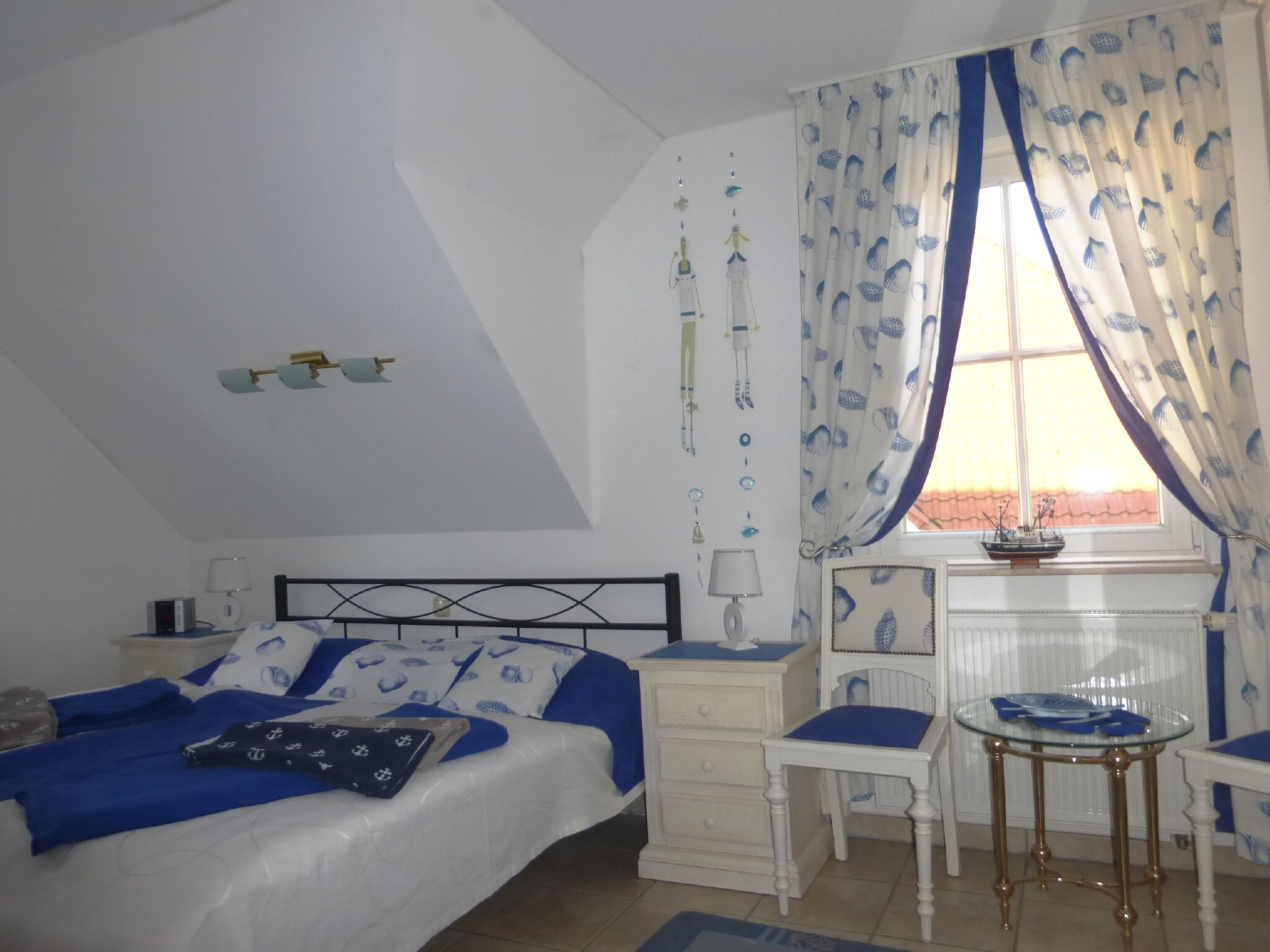 Kapitäns-Kajüte Schlafzimmer 1