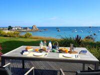 Ferienhaus mit Garten direkt am Meer 'le Corbusier' in Plougrescant - kleines Detailbild