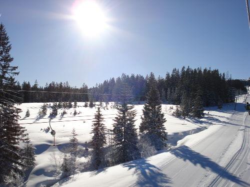 Winklmoosalm im Winter