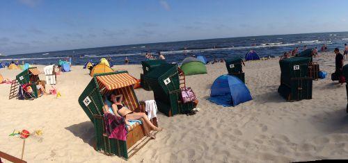 Der Strand von Zinnowitz