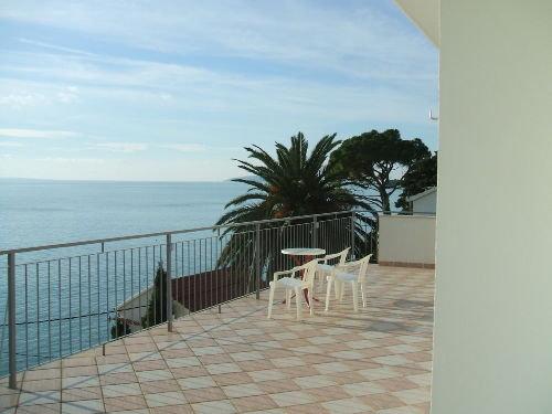 Panoramablick auf die Adria