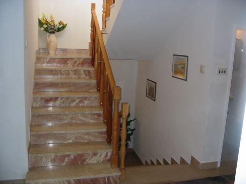 Freundlicher Treppenaufgang