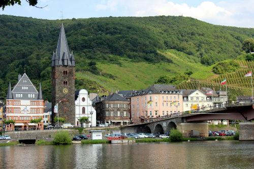 Blick auf die Altstadt von Bernkastel