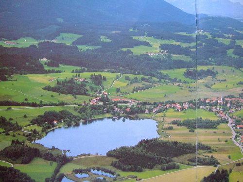 Luftbild aus dem Prospekt