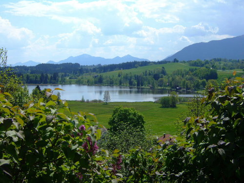 Blick auf den See (von der Kapelle)
