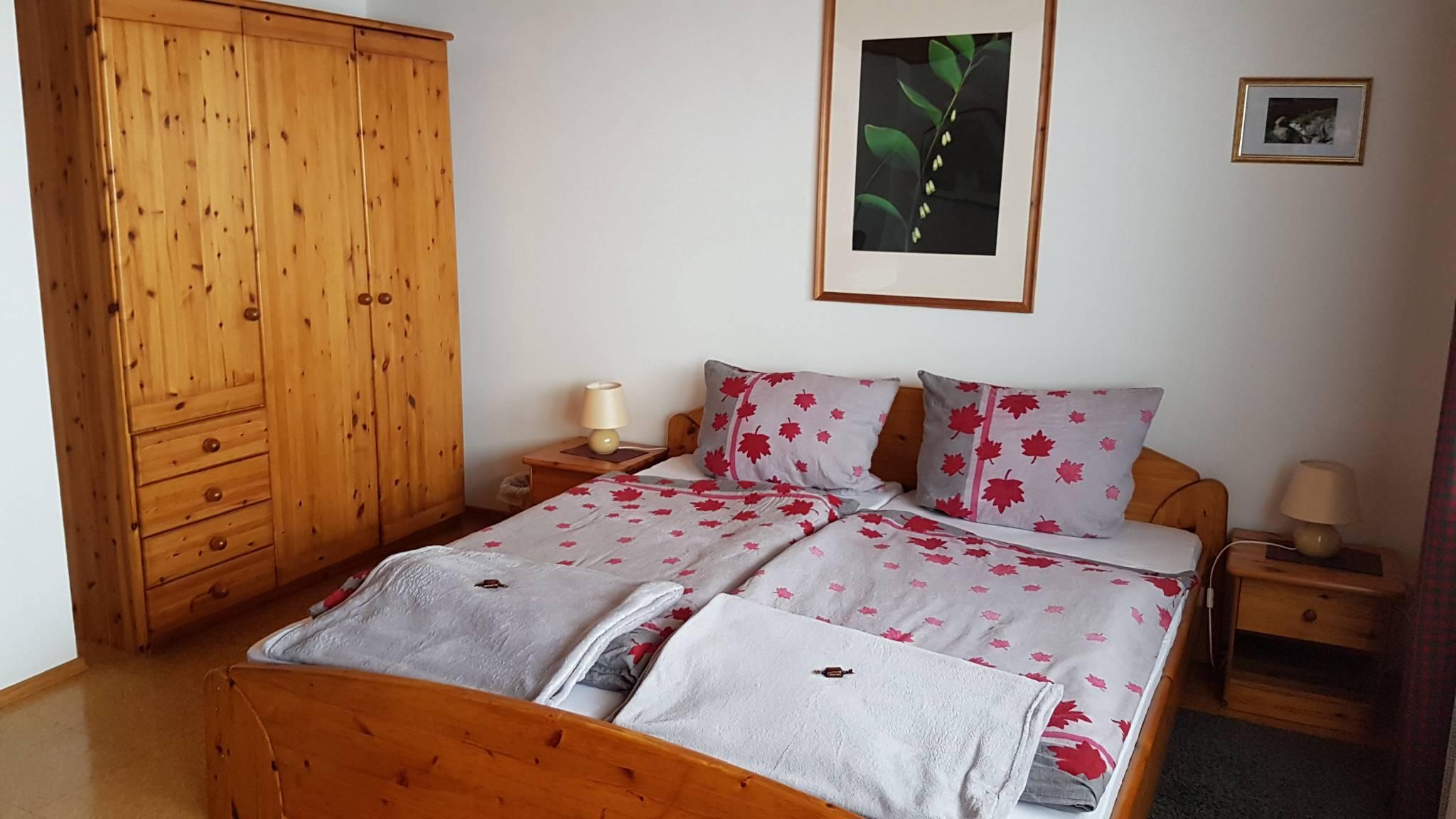 Das Süd-West Schlafzimmer