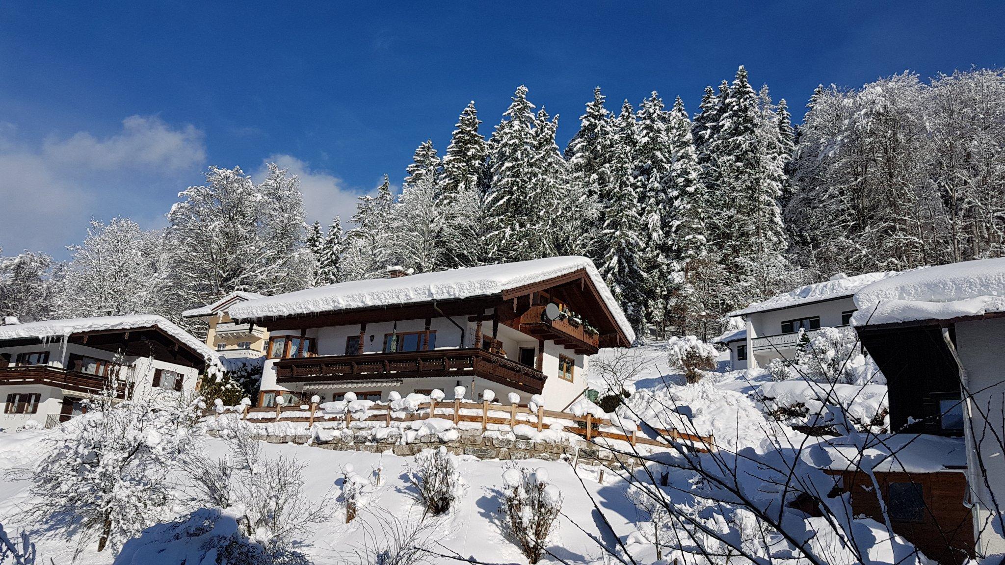 Winterlandschaft in Schönau am Königssee