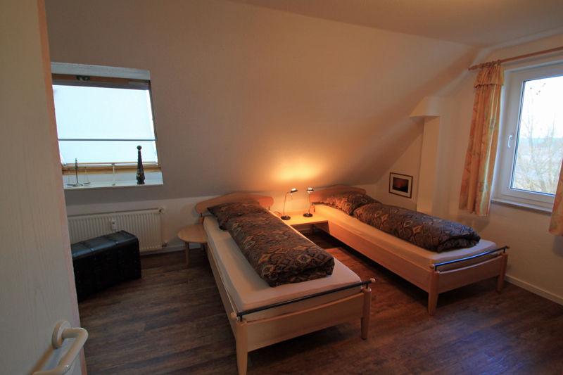 Zweites Schlafzimmer oben