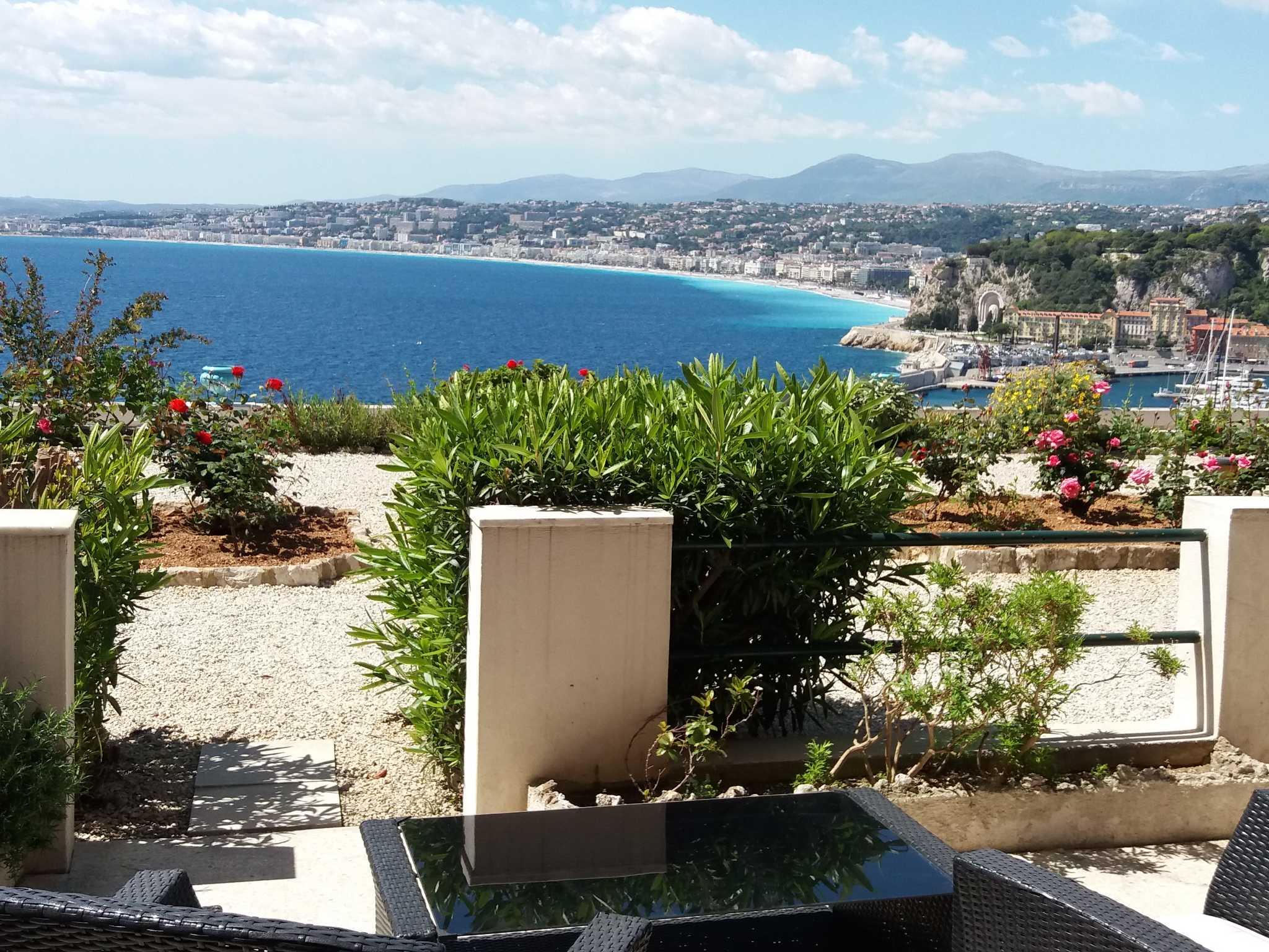der Hafen Nizza's