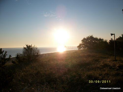 Blick von der Düne zur Ostsee