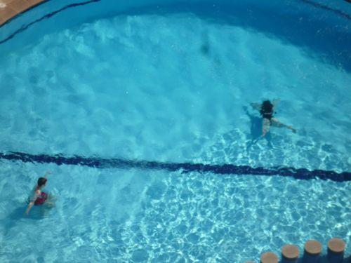 Swimming Pool von oben