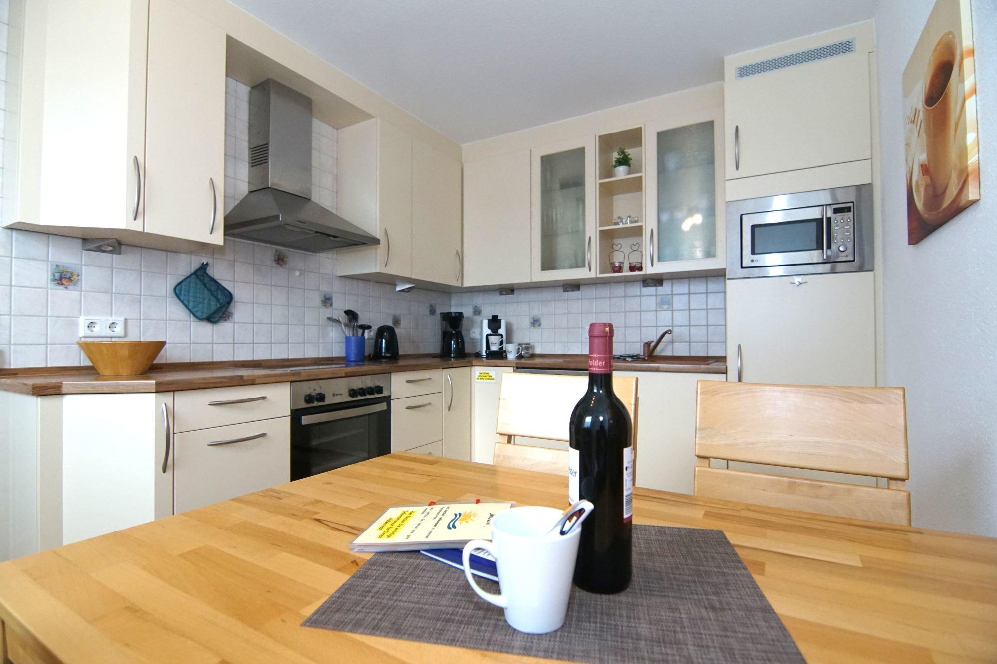 Küche-Essplatz