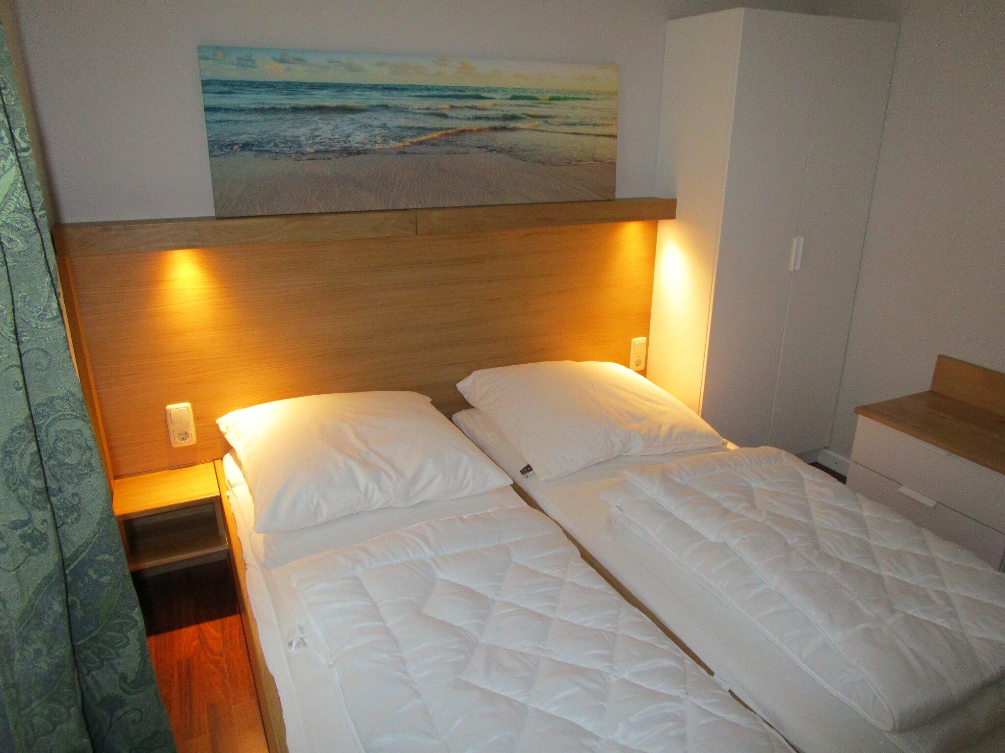 1 Schlafraum mit einem Doppelbett