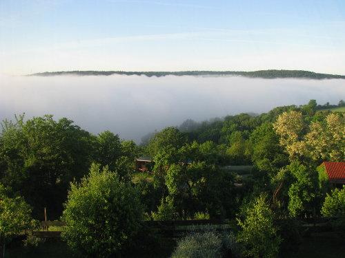 Morgennebel im Jagsttal