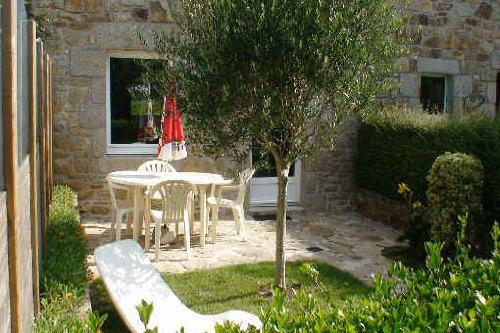 Garten mit Garten Möbel