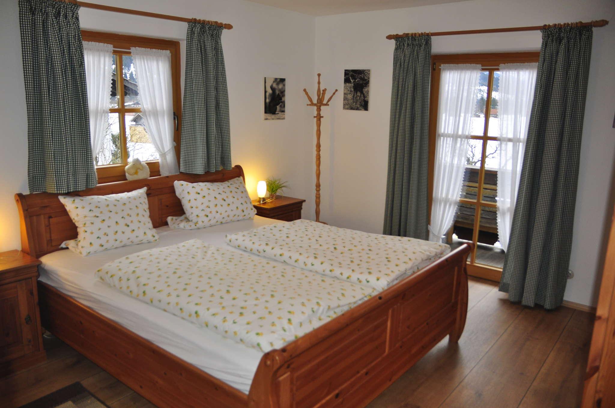 Schlafzimmer Wohnung Zugspitze