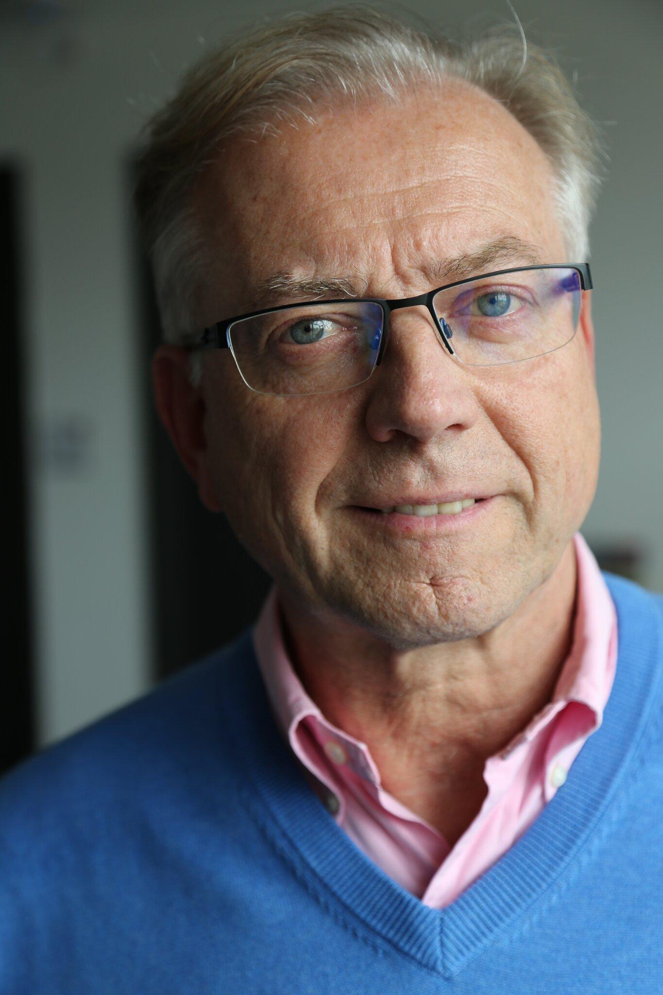 Ihr Gastgeber Rolf Pommeranz