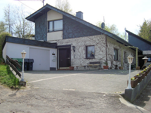 Haus Ludwig Vorderansicht