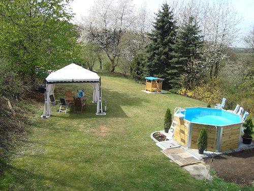 Pavillon, Sw. Pool+ Sandkasten