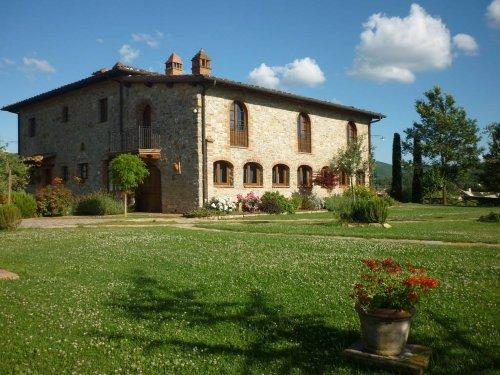 Das Haupthaus des Anwesens
