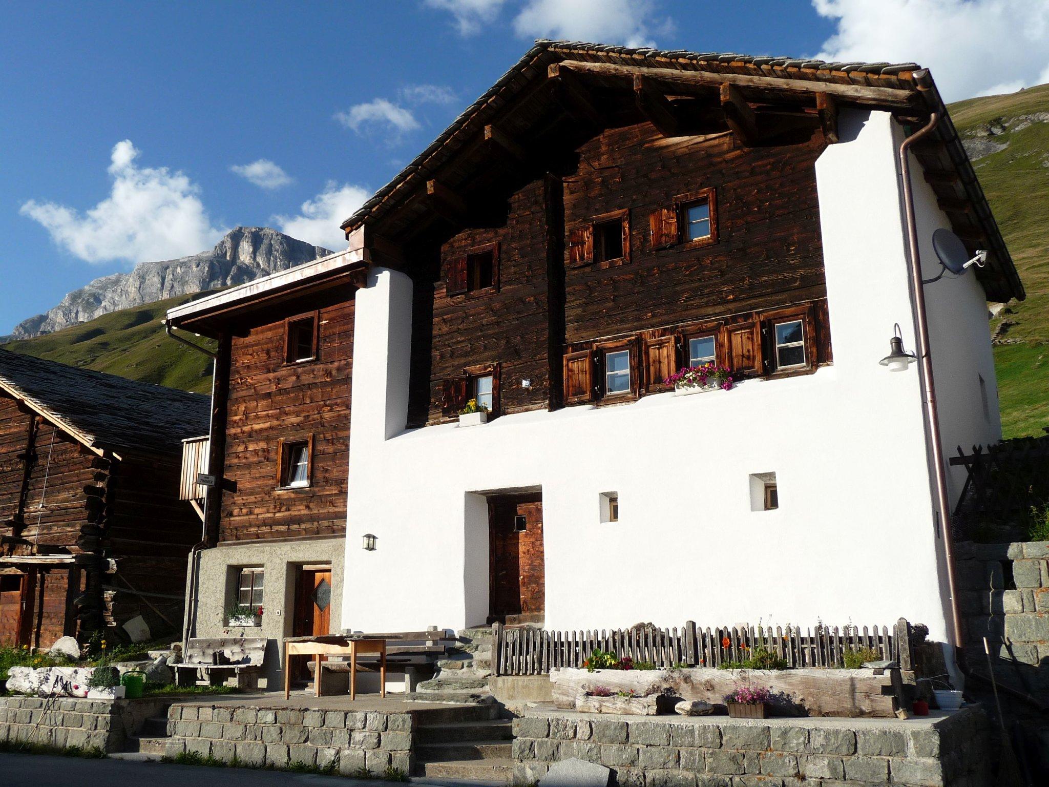 Haus79 ein neues altes Walserhaus