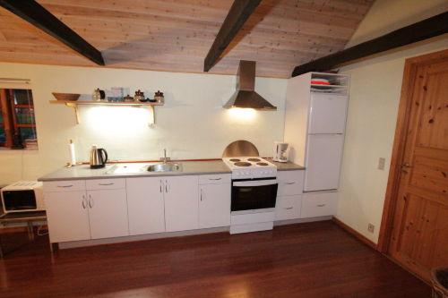 Die Küchenzeile komplett wie zu Haus