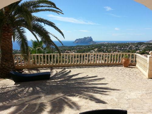 Villa TOOSAL, Blick von der Terrasse