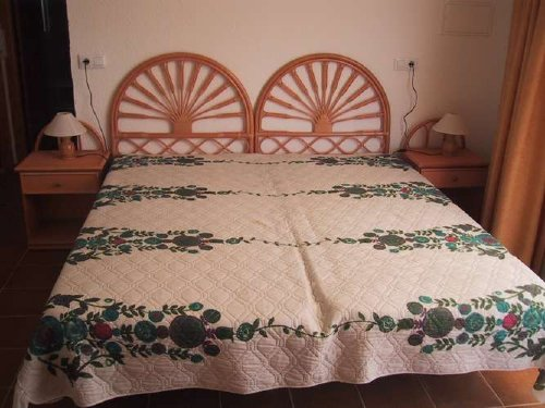 Eines der vier Schlafzimmer