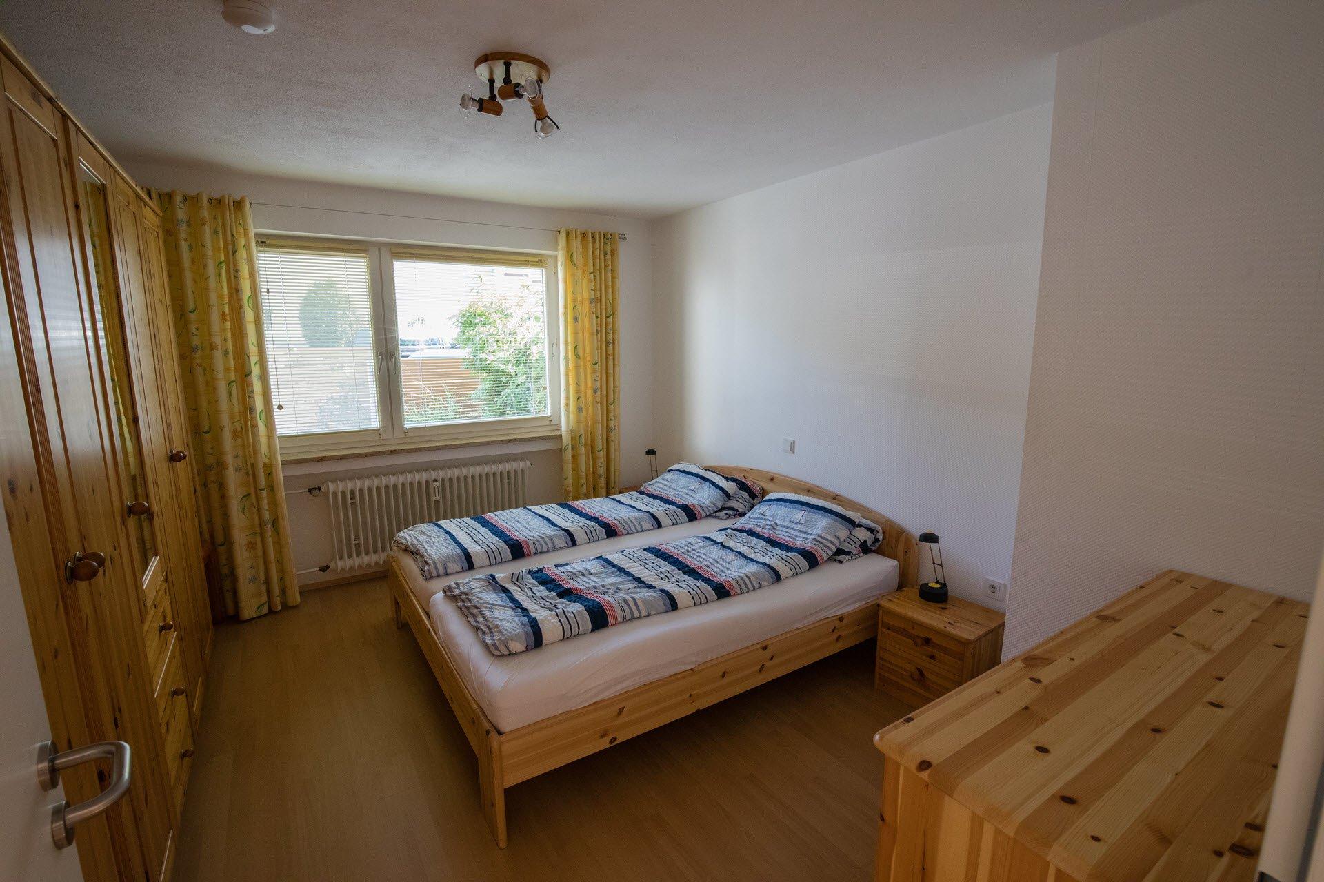 Schlafzimmer mit Komfortausstattung