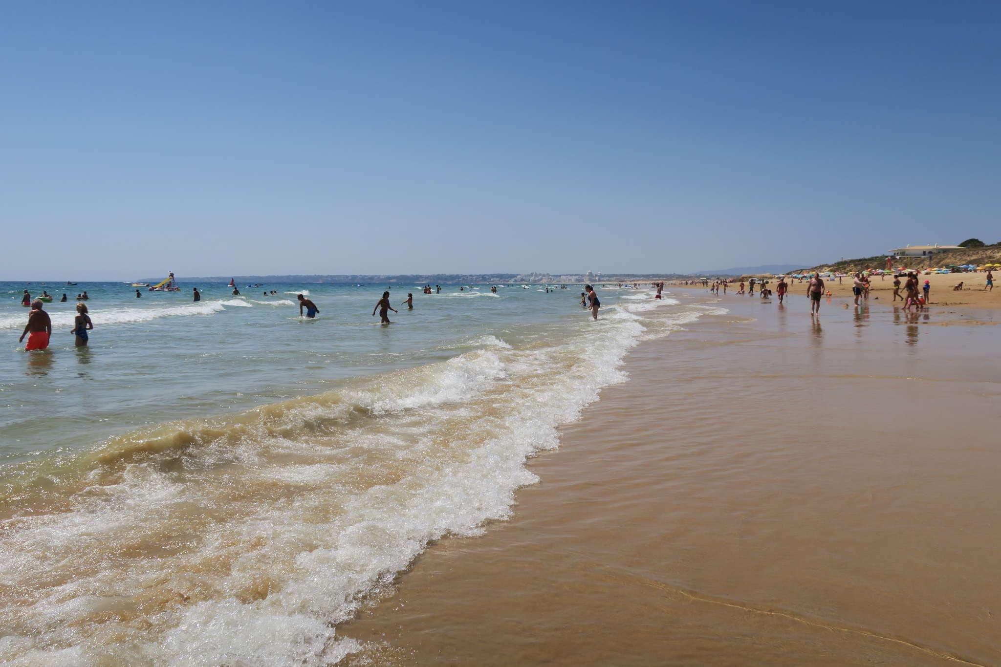 Dünenlandschaft am Strand Salgados