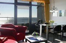 Wohnzimmer der Ferienwohnung Nr. 205
